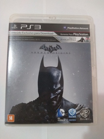 Batman Arkham Origins - Ps3