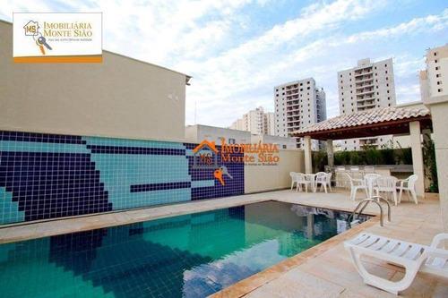 Cobertura Com 3 Dormitórios À Venda, 167 M² Por R$ 600.000,00 - Macedo - Guarulhos/sp - Co0015