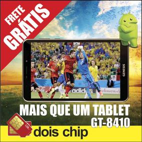 Tablet Genesis Gt-8410 Dual Sim 8 / 8gb/ 3g/ Bt4.0/ Wi-fi/