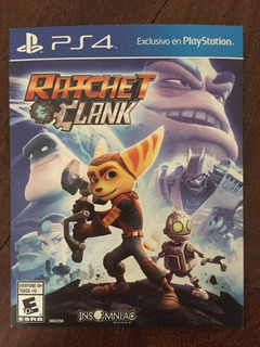 Rachet And Clank Juego Ps4