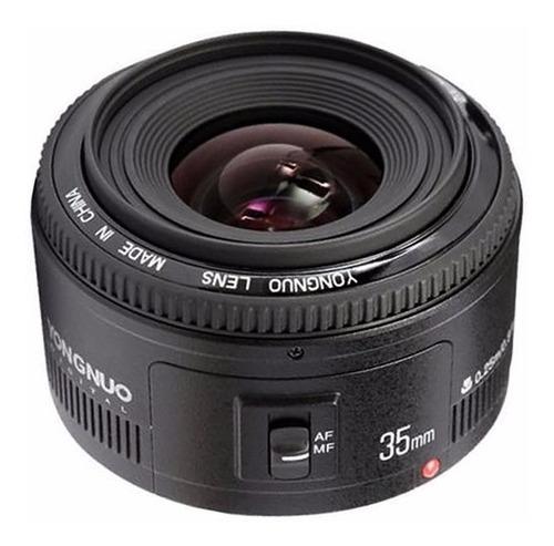 Imagem 1 de 5 de Lente Yongnuo Yn 35mm F/ 2 Para Canon Pronta Entrega