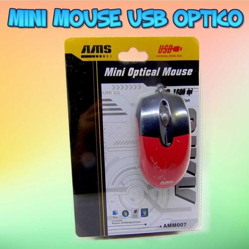 Mouse Con Cable Usb Optico