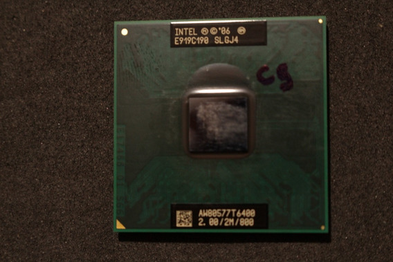 Processador Intel® Core2 Duo T6400 Aw80577t6400