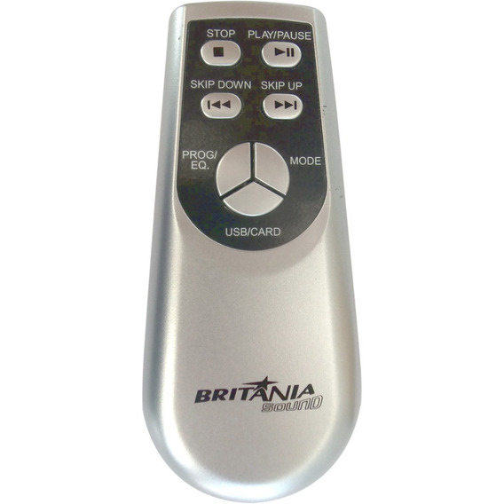 Kit 20 Controle Remoto Micro System Britânia Bs 336 Mp3 Usb