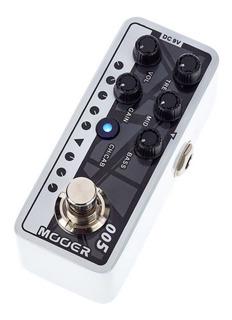 Pedal Mooer 005 Brown Sound 3 Micro Preamp Guitarra Cuotas