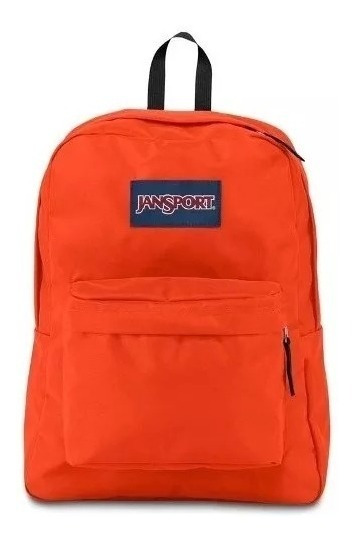 Mochila Jansport Superbreak Cherry Tomato 25l Regalosleon