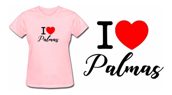 Camiseta Camisa Baby Look Feminina Rosa Palmas Tocantins Top