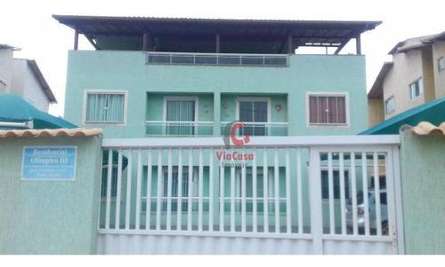 Cobertura À Venda, 90 M² Por R$ 170.000,00 - Âncora - Rio Das Ostras/rj - Co0018