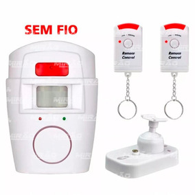 Kit Alarme Sem Fio Residencial Com Sensor - Lka-1001