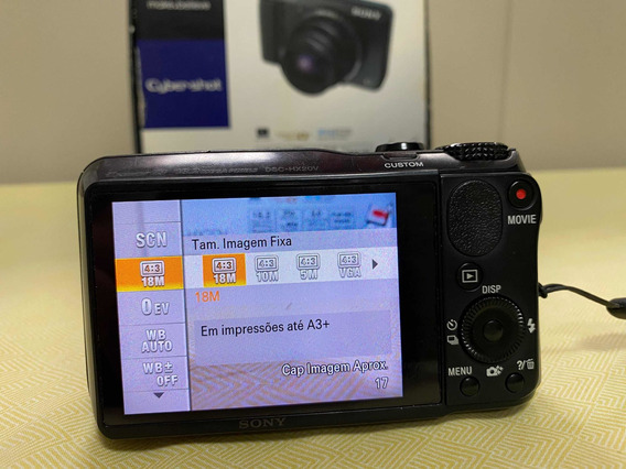Câmera Digital Sony Dsc-hx20v
