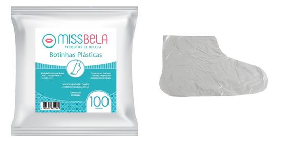 1.000 Botinha Plástica Descartável Missbela - Atacado