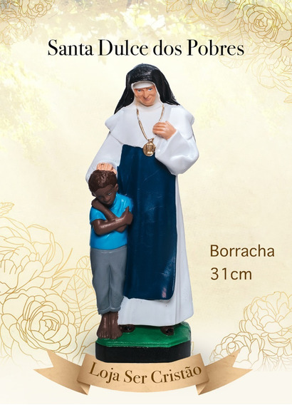 Imagem Santa Dulce Dos Pobres Irmã Dulce