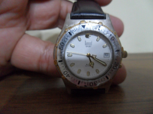 Relógio Dumont Sport 5atm 685am Japan Movt Funcionando 35mm