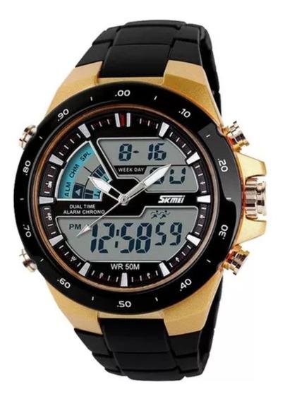 Relógio Masculino Skmei 1016 Wr 50m