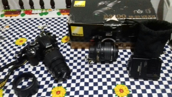 Camara Nikon D3100 Zoom18-55/55-200