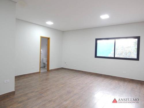 Sala Para Alugar, 40 M² Por R$ 1.800,00/mês - Centro - São Bernardo Do Campo/sp - Sa0569