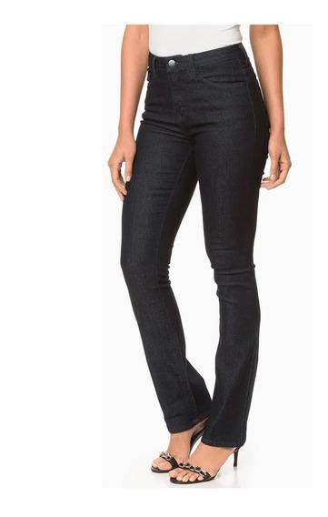 Calça Jeans Calvin Klein Reta Cintura Alta Cf8pw11ji118 Orig
