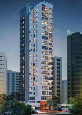 Lançamento! - Apartamento Com 2 Dormitórios À Venda, 60 M² Por R$ 494.704 - Tambaú - João Pessoa/pb - Ap0754