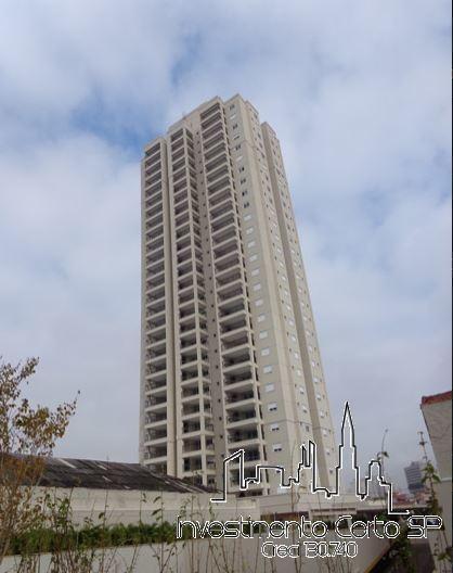 Apartamento Para Venda Em São Paulo, Vila Bertioga, 2 Dormitórios, 1 Suíte, 2 Banheiros, 1 Vaga - Magnifico Mooca