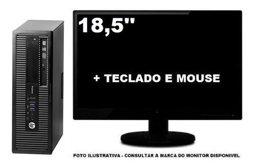 Imagem 1 de 5 de Computador Hp Prodesk 600 G1 Core I5 4590 8gb 240ssd