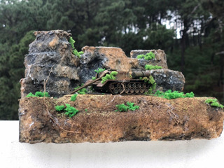 Maqueta Modelismo Militar Diorama Escala 1:72