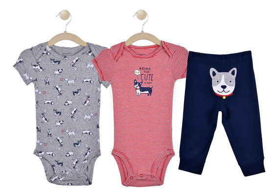 Set De 3 Piezas Carters Boys 16628110
