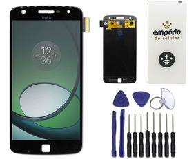 Tela Touch Screen Display Lcd Motorola Moto Z Play Preto