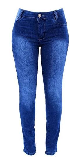 Calça Jeans Manchada Feminina Skinny