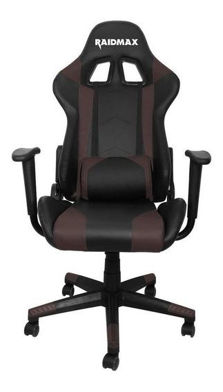 Cadeira Gamer Raidmax Drakon Dk 702 Preta Com Marrom