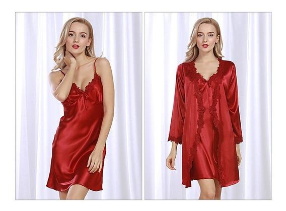 Camisón De Mujer Mujer Lencería Del Cordón De Vestido De