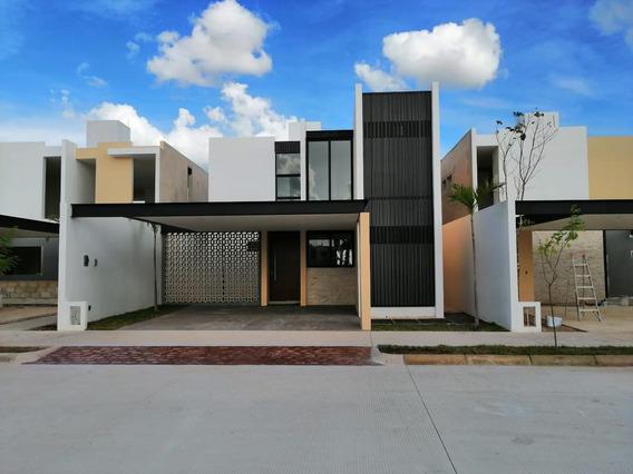 Casa En Venta,3 Rec Y Cuarto De Lavado,privada Ya Ax-beh,conkal,mérida,yucatán.