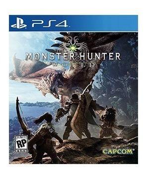 Monster Hunter World - Ps4 - Mídia Física