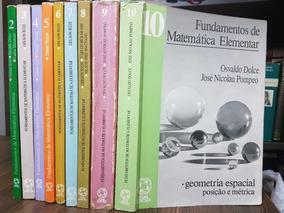 Fundamentos De Matemática Elementar - 9 Volumes