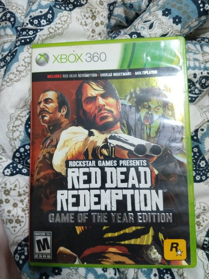 Red Dead Redemption Xbox 360 Game Of The Year Edition