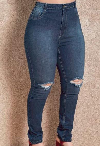 Calça Jeans Plus Size Femin.rasgada-uni000609-universizeplus