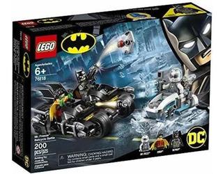 Lego Batman Dc Batalla En La Batimoto 76118