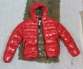 Jaqueta Com Capuz E Ziper Vermelha