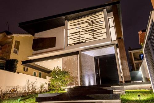 Imagem 1 de 30 de Luxuoso Imóvel De Alto Padrão Para Venda No Condomínio Arujá 5 - Arujá/sp - Ca0748