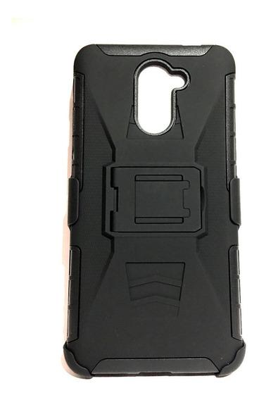 Funda Triple Uso Rudo 3n1 Huawei Gw Metal + Envio Expres Dhl