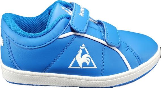 Le Coq Sportif Dallas Niños Velcro Azul Urbana Megacaseros