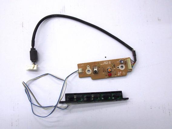 Placa Sensor + Teclado Tv Samsung Ln32r71bax - Usado