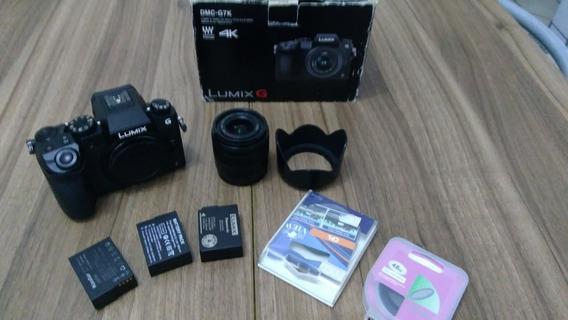 Panasonic Lumix G7 4k + Lente + Filtros