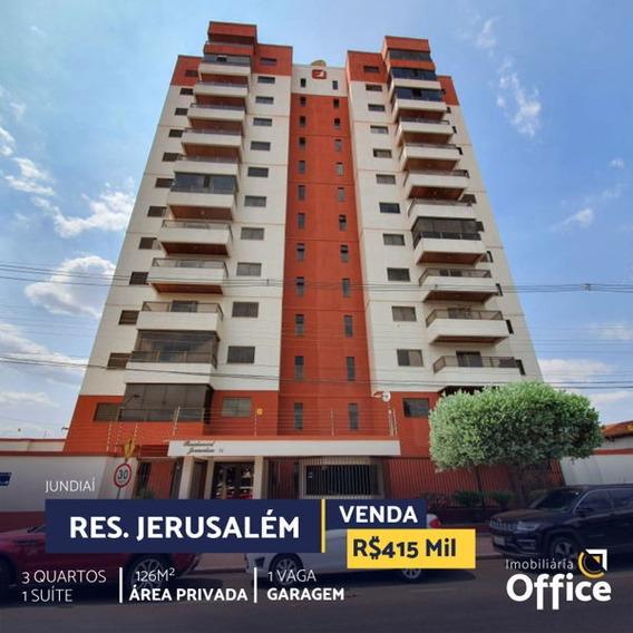 Apartamento Padrão Com 3 Quartos No Res. Jerusalém - Off339-v