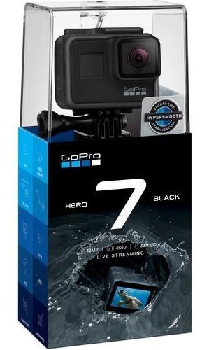 Gopro - Hero7 Black - Câmera 4k A Prova Dágua