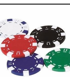 Fichas De Poker Plásticas De Colores
