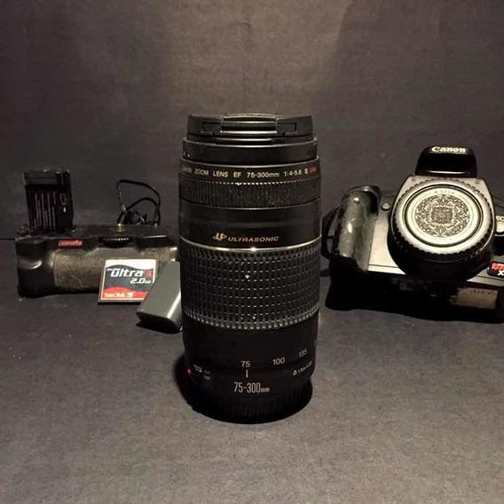 Kit Fotográfico Para Incitantes. Canon Dslr Xti