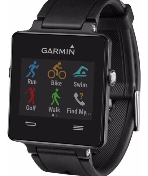 Relógio Garmin Vivoactive Gps Ciclismo Natação Golfe Bike