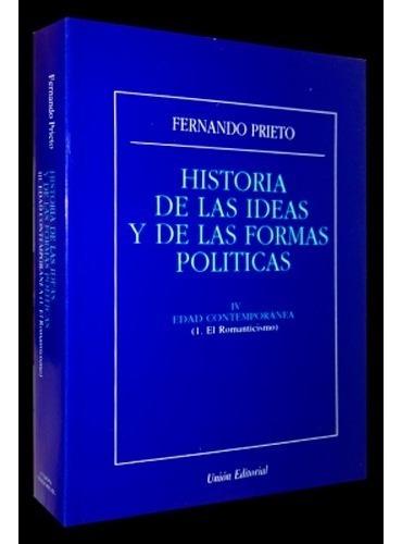 Imagen 1 de 1 de Historia De Las Ideas Y De Las Formas Politicas - Iv Edad Co