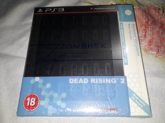 Dead Rising 2 Zombrex Edition Novo Ps3