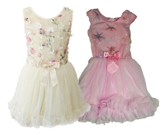 Vestido Para Niña Popatu Original